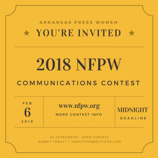 Now Open: 2018 Annual Communications Contest