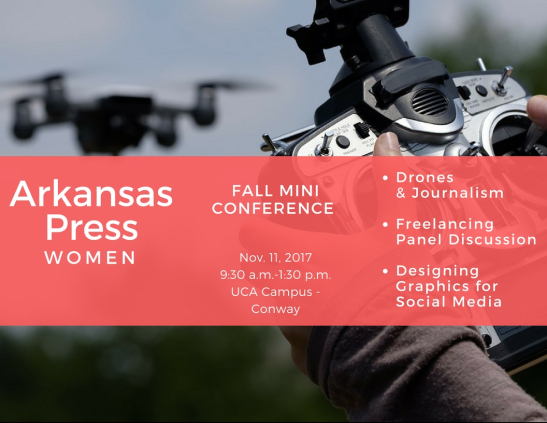 Freelancing, Drones and More at APW's Fall Conference on Nov. 11 at UCA