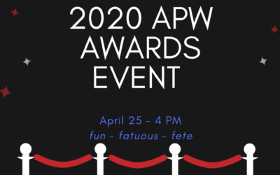 APW's April 25th Communications Awards Moves Online