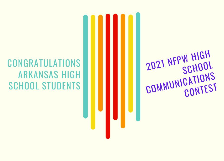 Arkansas High School Students Win Journalism Awards